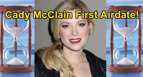 Days of Our Lives Spoilers: Jennifer Swap Explained, Cady McClain's First Airdate – See When She Takes Over for Melissa Reeves