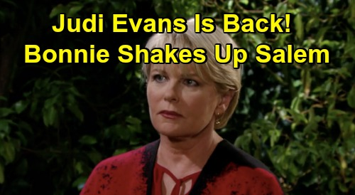 Days of Our Lives Spoilers: Judi Evans Back as Bonnie - Stuns Justin & Jack, Tries To Make Amends With Lucas