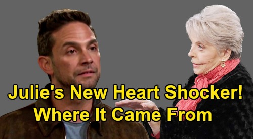 Days of Our Lives Spoilers: Julie Shocked To See Jake - See Who Her New Heart Really Came From