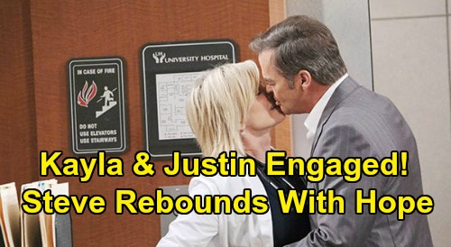 Days of Our Lives Spoilers: Kayla Accepts Justin's Proposal - Heartbroken Steve Turns To Hope For Rebound Comfort