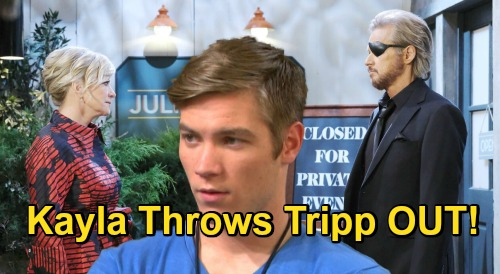 Days of Our Lives Spoilers: Kayla Kicks Tripp OUT, Demands Steve Tell Son to Leave – Can't Live with Allie Attacker Under Her Roof