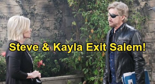 Days of Our Lives Spoilers: Kayla & Steve Exit Salem – Airport Confrontation Brings New Chapter