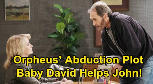 Days of Our Lives Spoilers: Kidnapped John Finds Tiny Ally, David Helps Grandpa's Hostage – Orpheus' Abduction Plot Hits a Snag