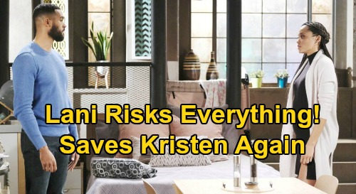 Days of Our Lives Spoilers: Kristen Arrested, Faces Long Jail Term - Lani Risks Everything, Comes To Her Rescue