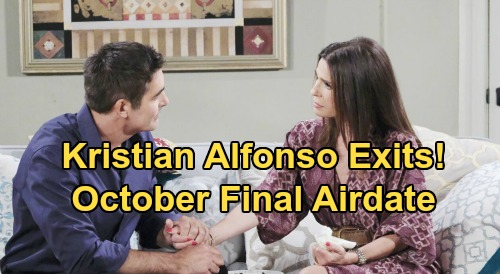 Days of Our Lives Spoilers: Kristian Alfonso Exits as Hope Brady – Already Filmed Last DOOL Episode, Won't Return in September