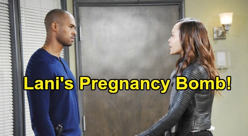 Days of Our Lives Spoilers: Lani's Baby Bomb Leaves Daddy Eli Excited – Mom-to-Be Isn't Sure Pregnancy's What She Wants