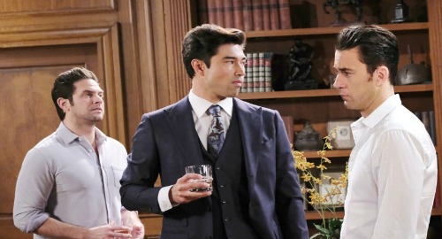 Days of Our Lives Spoilers: Li Shin Gives Jake Prominent Role In DiMera - Chad Fumes, Vows To Destroy Brother?