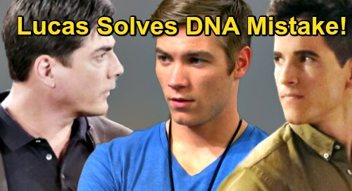 Days of Our Lives Spoilers: Lucas Discovers Tripp DNA Test Mistake – Recalls Bonnie Baby Plot, Half-Brother Rex Daddy Confusion?