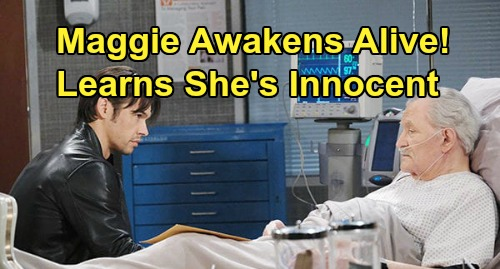 Days of Our Lives Spoilers: Maggie Gets Shocking News of Her Innocence – Awakens in Prison Infirmary After Xander Saves Her Life