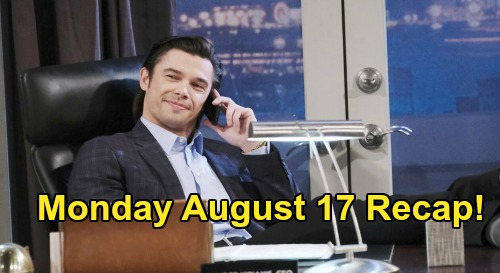 Days of Our Lives Spoilers: Monday August 17 Recap - Justin's a Cowboy, Sami's a Baby Thief and Xander's Already Fired