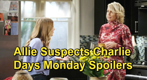 Days of Our Lives Spoilers: Monday, January 4 – Drugged Ava Hallucinates – Allie & Charlie Strange Run-In – Jack & Gwen Showdown