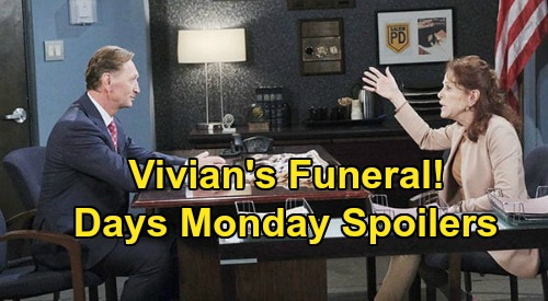 Days of Our Lives Spoilers: Monday, July 20 – Vivian's Funeral, Jake Grieves After Mom's Death – Ben's Disturbing Jordan Dream