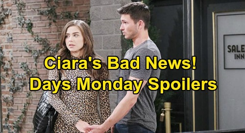 Days of Our Lives Spoilers: Monday, June 8 – Jake & Ben Hide Gabi Danger From WilSon – Ciara's Bad News – Shawn & Belle Return