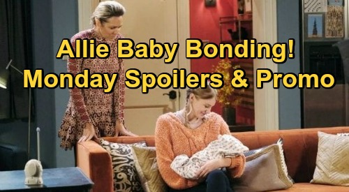 Days of Our Lives Spoilers: Monday, October 19 – Marlena's Shocking Call – Brady Catches Philip – Allie Bonds With Henry