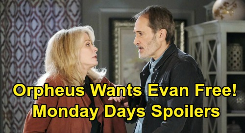 Days of Our Lives Spoilers: Monday, October 26 – Allie Falls for Clyde's Trick, Henry Kidnapped – Orpheus' Plan to Free Evan