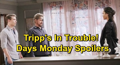 Days of Our Lives Spoilers: Monday, October 5 – Tripp Says Allie's Lying – Ben Wants Ciara's Location – Eli's Bait for Kristen