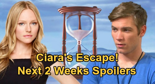 Days of Our Lives Spoilers Next 2 Weeks: Allie's Baby Custody Decision – Ciara's Escape – Chad & Abigail Conflict Erupts