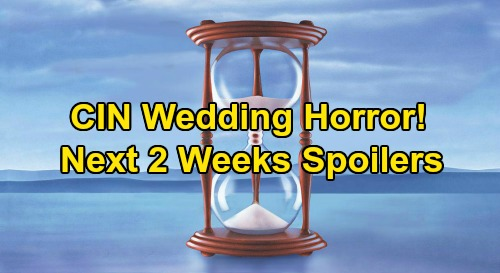 Days of Our Lives Spoilers Next 2 Weeks: Ben & Ciara's Wedding Horror – Xander's a Hero – Belle Busts Lying Claire – Shawn's Bad News