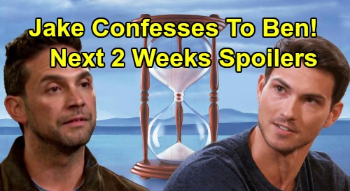 Days of Our Lives Spoilers Next 2 Weeks: Jake Confesses To Ben - Gabi Snatched – Will & Sonny Baby News – Lani Doesn't Want a Child