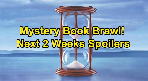 Days of Our Lives Spoilers Next 2 Weeks: Jake Mystery Book Brawl – Kristen Returns - Allie's Adoption – Claire Wedding Drama