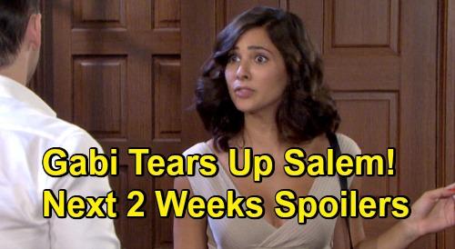 Days of Our Lives Spoilers Next 2 Weeks: Tripp and Allie Shockers – Huge Returns - Gabi Tears Up Salem - Hot Couples Boom & Bust
