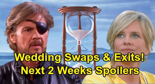 Days of Our Lives Spoilers Next 2 Weeks: Wedding Swaps - Surprise Returns - Baby Bombs & Unexpected Exits