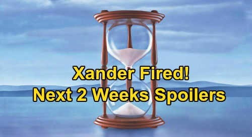 Days of Our Lives Spoilers Next 2 Weeks: Xander Fired – Claire Stunned Over Allie's Rape – Vincent's Ciara Confession