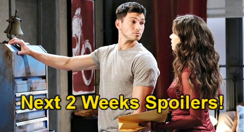 Days of Our Lives Spoilers Next 2 Weeks: Ben & Ciara's Attorney Battle – Bonnie Proposes – Lucas Recruits Philip Against EJ