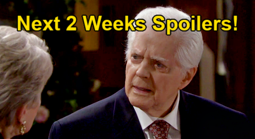 Days of Our Lives Spoilers Next 2 Weeks: Ben & Ciara's Oak Alley Stop – Doug's Test Results – Marlena's Possession