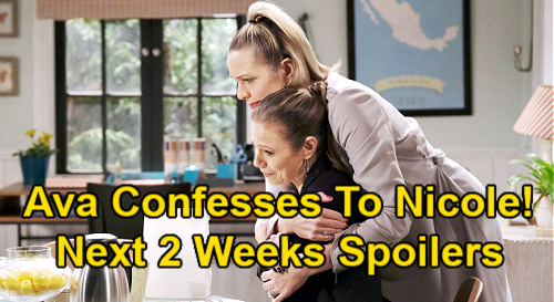 Days of Our Lives Spoilers Next 2 Weeks: Chanel Flirts with Xander – Brady's Prison Visit - Ava Confesses to Nicole