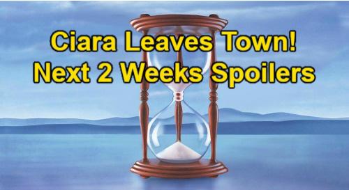 Days of Our Lives Spoilers Next 2 Weeks: Ciara Leaves Salem - Ava & Rafe Kiss, Nicole Jealous – Jake's Bizarre Breakup