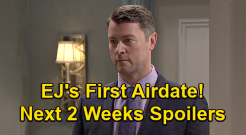 Days of Our Lives Spoilers Next 2 Weeks: EJ Surprises Sami in Salem, Dan Feuerriegel's First Airdate – Ben Visits Clyde