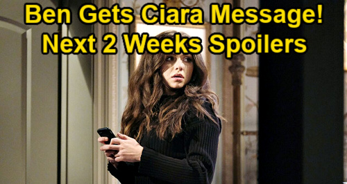 Days of Our Lives Spoilers Next 2 Weeks: Gwen Kills Laura – Ciara Sends Ben Message – Two Dangerous Characters Return
