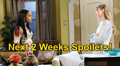 Days of Our Lives Spoilers Next 2 Weeks: Olympics Cliffhanger – Claire Helps Ben's Ciara Mission – Chanel Leans on Eli