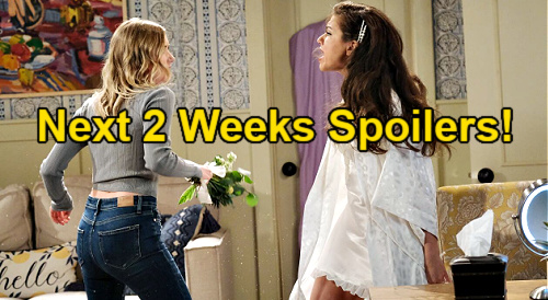 Days of Our Lives Spoilers Next 2 Weeks: Two Cliffhangers Before the Olympics Begin - Chaos and Bitter Revenge for Bride Swap