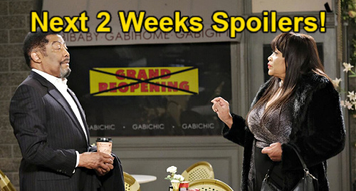 Days of Our Lives Spoilers Next 2 Weeks: Xander Wedding Bust - Sami Confesses to Lucas - Gabi & Ava Face Off – Eli & Lani Fight