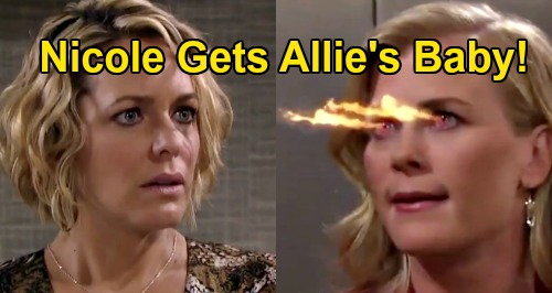 Days of Our Lives Spoilers Preview: Week of August 10 - Allie Runs Away, Wants Nicole To Raise Son - Sami & Nicole Battle Is ON