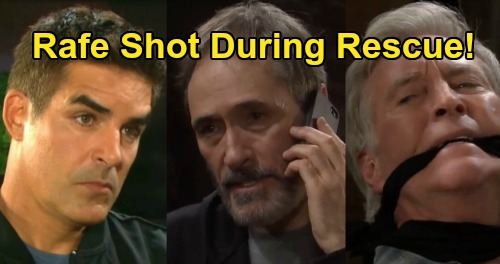 Days of Our Lives Spoilers: Rafe's Gunshot Wound, Takes a Bullet as Orpheus Fights Against David & John Rescue
