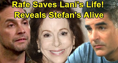 Days of Our Lives Spoilers: Rafe Saves Lani from Vivian's Bullet, Reveals Stefan Still Alive – Jake News Stops Wedding Shooting