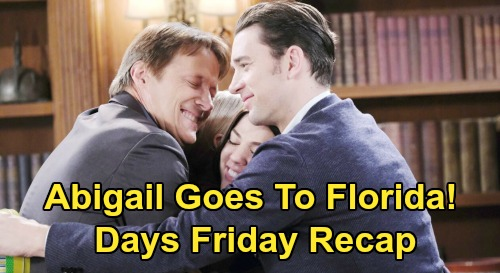 Days of Our Lives Spoilers Recap: Friday, May 22 - Orpheus Brutalizes John - Abigail Heads To Florida - Zoey Betrays Rafe