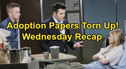 Days of Our Lives Spoilers Recap: Wednesday, August 5 - Ben Stops Breathing - Allie Tears Up Wilson Adoption Papers