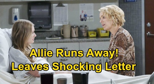 Days of Our Lives Spoilers: Runaway Allie Leaves Stunning Letter Behind – Sami's Desperate Daughter Hunt with Nicole and Eric