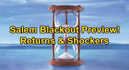 Days of Our Lives Spoilers: Salem Blackout Chaos – Preview of Shockers and Returns, What to Expect When Darkness Takes Over