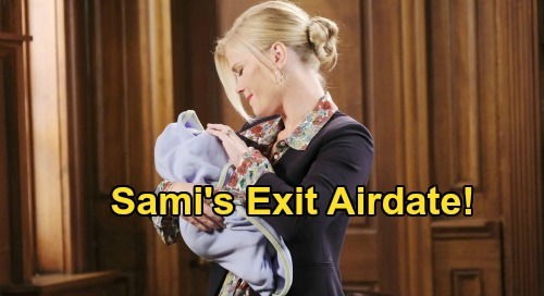 Days of Our Lives Spoilers: Sami Leaves Salem, Exit Airdate and When She'll Return – Alison Sweeney's DOOL Status Explained