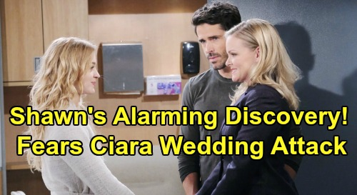 Days of Our Lives Spoilers: Shawn's Alarming Discovery - Terrified Claire Plans Ciara & Ben Wedding Attack