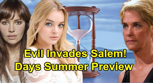Days of Our Lives Spoilers: Summer Preview - 4 Big Troublemakers Invade Salem - Claire, Gwen, Allie, & Eve Bring Shock & Danger