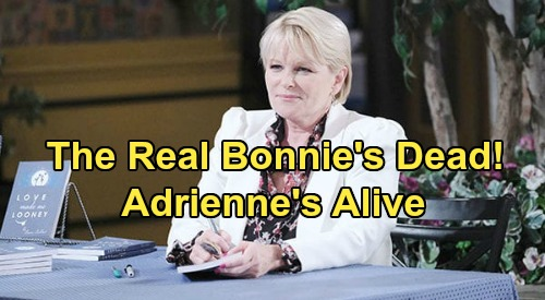 Days of Our Lives Spoilers: The Real Bonnie's Dead, Adrienne Alive with Bonnie's Memories – Shocking Twist Revealed