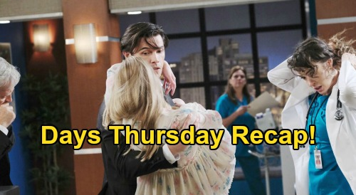 Days of Our Lives Spoilers: Thursday, July 23 Recap - Ben Missing After Explosion - Jake Learns DiMera History