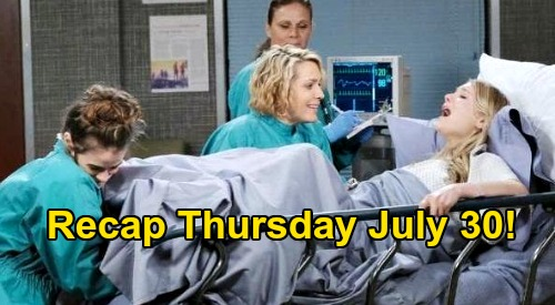 Days of Our Lives Spoilers: Thursday, July 30 Recap - Murder She Wrote - Baby Birthing, Moving Day and Takeover Plots