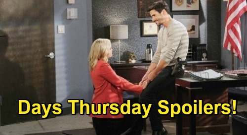 Days of Our Lives Spoilers: Thursday, November 12 – Jan Fixes Claire & Charlie's Romance - Belle's Marriage Proposal Stuns Shawn
